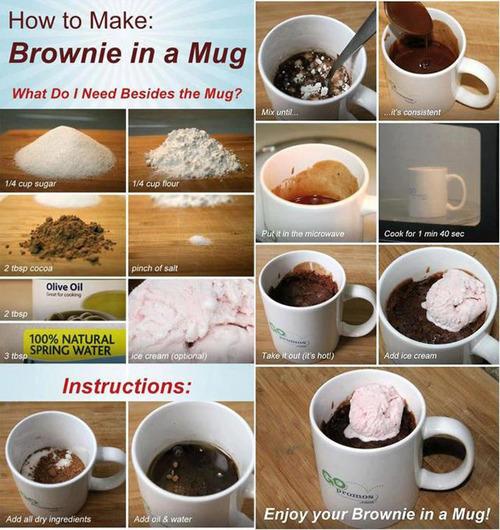 brownie mug tip