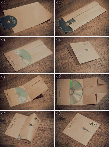 cd envelope trick