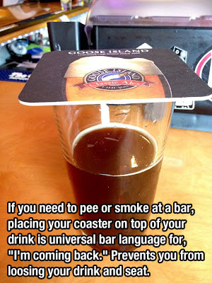 coaster top drink trick