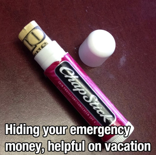 emergency money tip