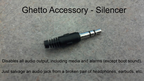 ghettoaccessory silencer tip