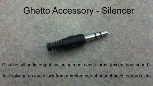 ghettoaccessory silencer tip