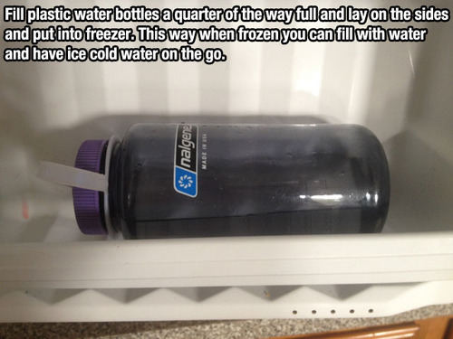 ice cold water trick