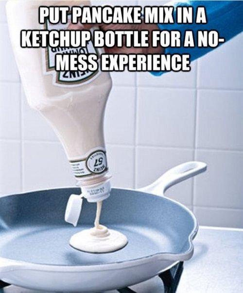 ketchup bottle hack