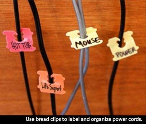 organize powercords trick