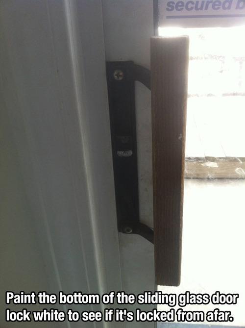 paint lock white trick
