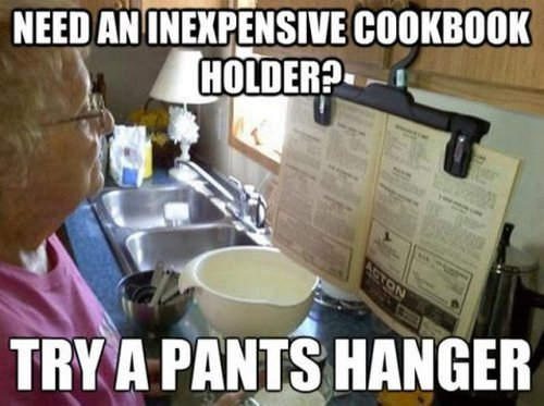 pants hanger lifehack