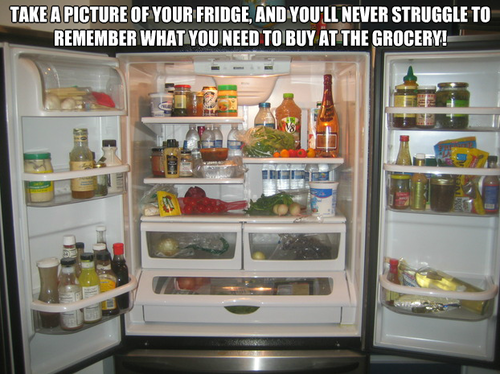 picture fridge hack