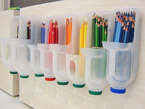 recycled pencilholder lifehack