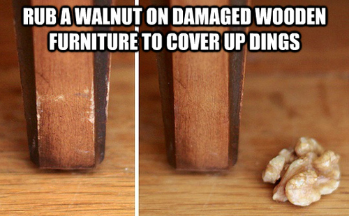 scratched furniture tip