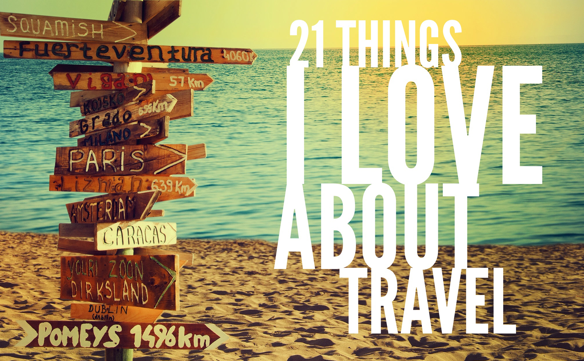 21 things travel