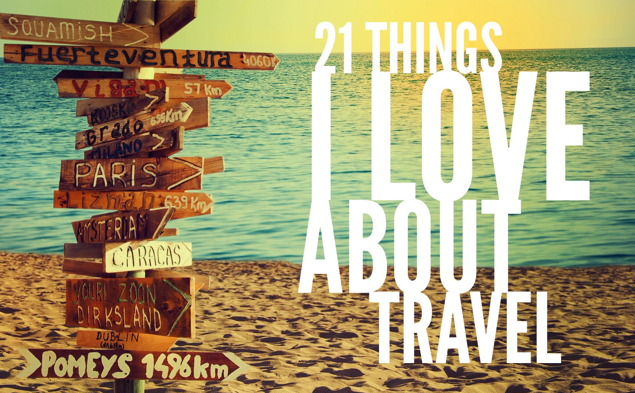 21 things travel